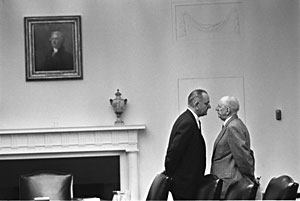 file:/activities/oralhistory/cappics/nelson1939_lbj, alt: Lyndon Johnson speaking to Richard Russell