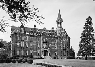 file:/activities/oralhistory/cappics/pryor1923_fisk, alt: Jubilee Hall on the Nashville, Tennessee, campus of Fisk University