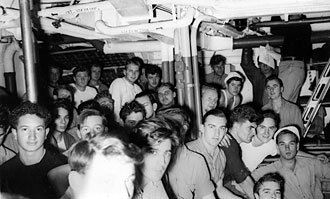 file:/activities/oralhistory/cappics/slater1942_life_crew, alt: Crew members in their quarters